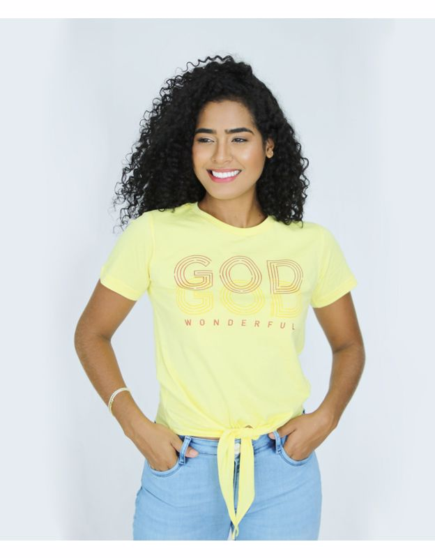 BABY LOOK AD DE AMARRAR GOD WONDERFUL