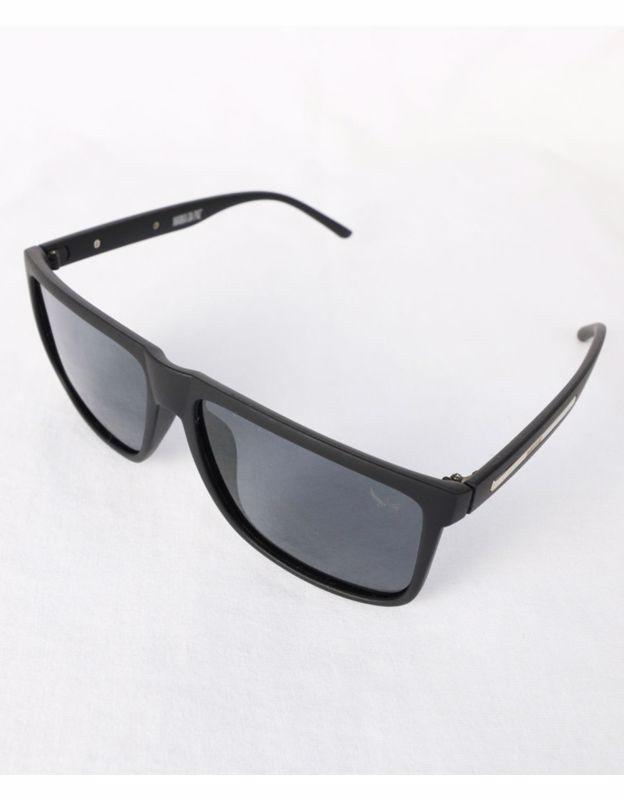 Óculos de Sol Lente Acetato Polarizada Preta