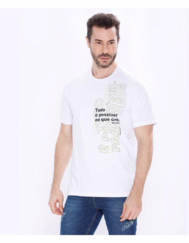 Camiseta AD Tudo é Possível