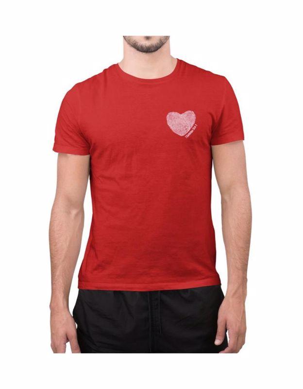 Camiseta Dia dos Namorados 1 Coríntios 13-VERMELHA