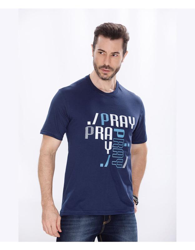 Camiseta AD Pray Pray PLUS
